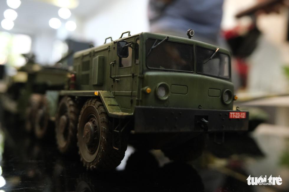 Choáng với mô hình cực kỳ chất mô tả khí tài quân sự tham gia chiến dịch Hồ Chí Minh - Ảnh 6.