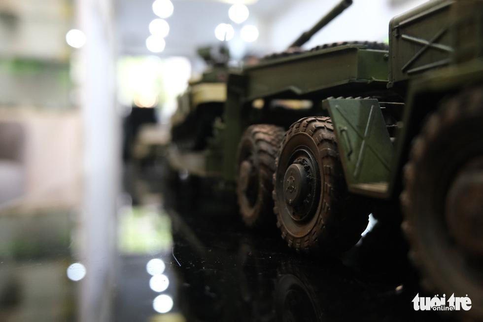Choáng với mô hình cực kỳ chất mô tả khí tài quân sự tham gia chiến dịch Hồ Chí Minh - Ảnh 5.