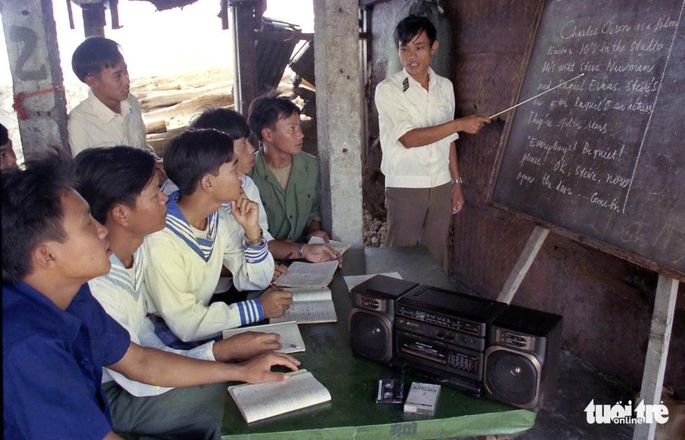 Những hình ảnh ấn tượng nhân 46 năm giải phóng Trường Sa - Ảnh 6.