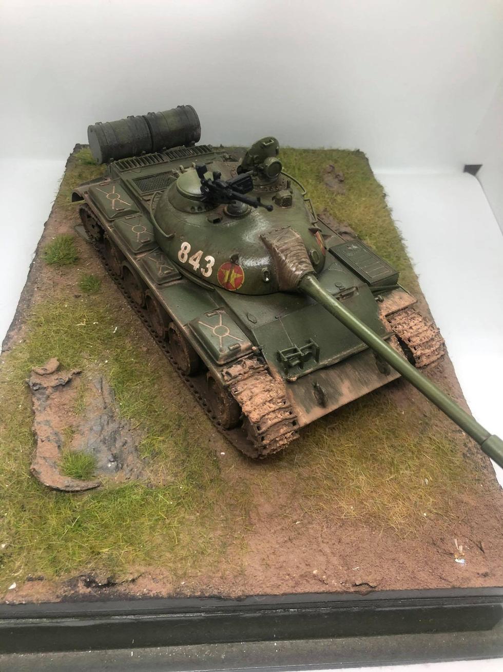 Choáng với mô hình cực kỳ chất mô tả khí tài quân sự tham gia chiến dịch Hồ Chí Minh - Ảnh 3.
