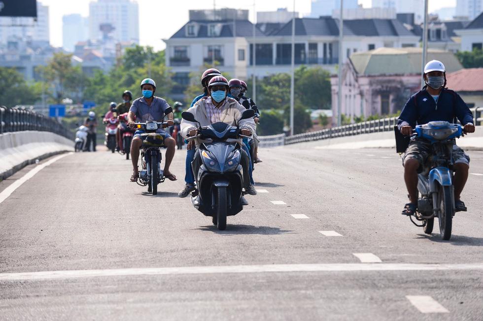 Thông xe đường Nguyễn Hữu Cảnh, hoàn thành nâng cấp 'rốn ngập' của TP.HCM - Ảnh 5.