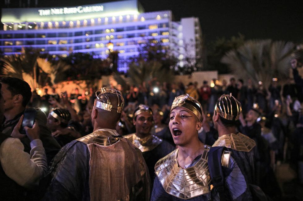 Cuộc diễu hành vàng của các Pharaoh Ai Cập - Ảnh 5.
