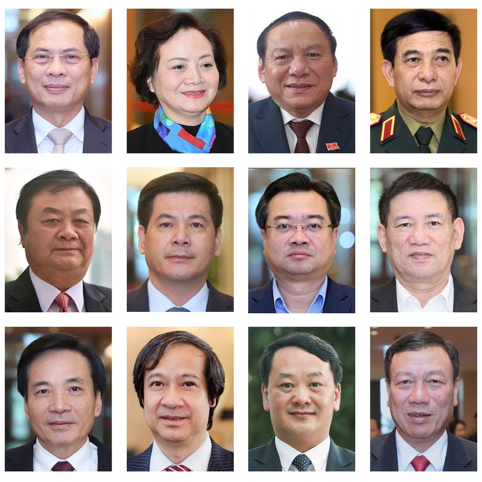 Quốc hội phê chuẩn 2 phó thủ tướng và 12 thành viên Chính phủ mới - Ảnh 2.