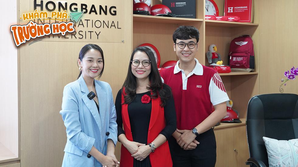 19h hôm nay 7-4, phát sóng Khám phá trường học tại ĐH Quốc tế Hồng Bàng - Ảnh 2.