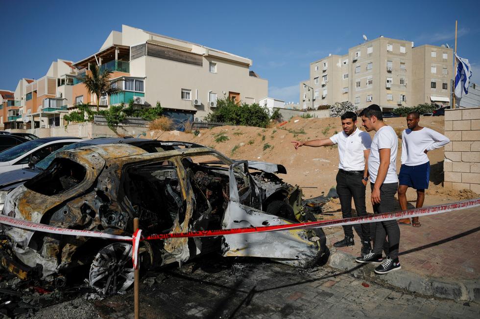 Người dân khổ nạn vì xung đột Israel - Palestine - Ảnh 11.