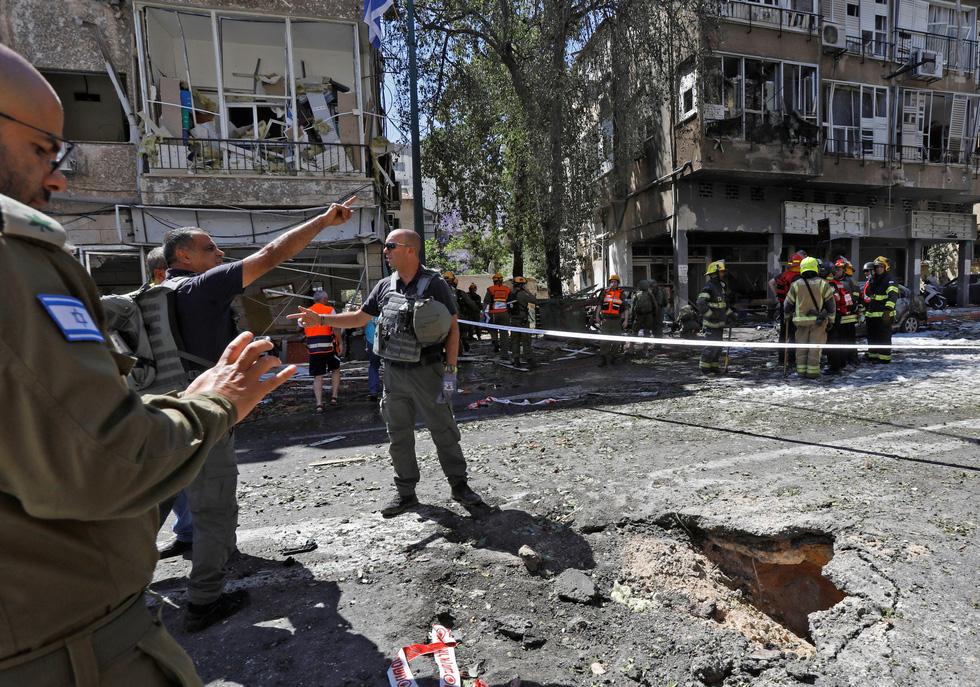 Người dân khổ nạn vì xung đột Israel - Palestine - Ảnh 12.