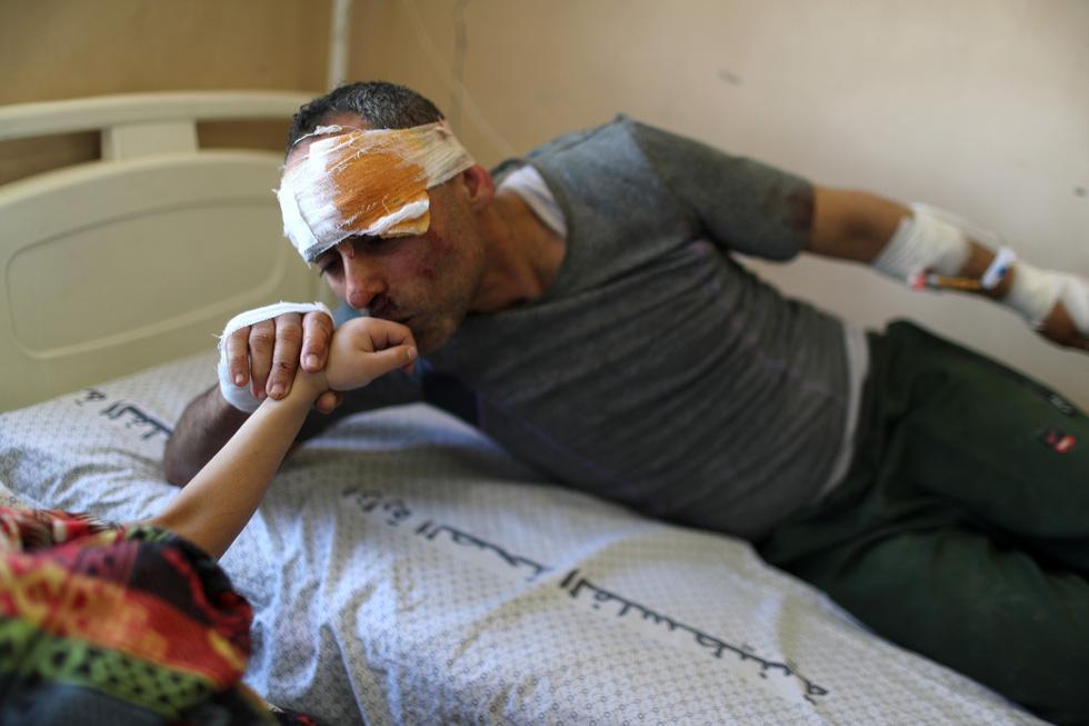 Người dân khổ nạn vì xung đột Israel - Palestine - Ảnh 3.