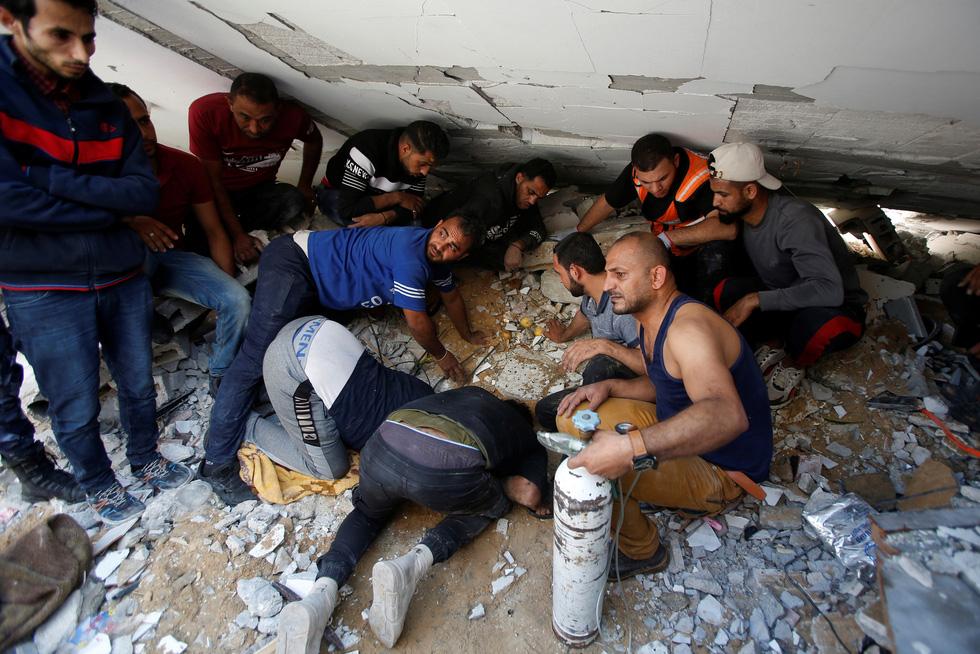 Người dân khổ nạn vì xung đột Israel - Palestine - Ảnh 4.