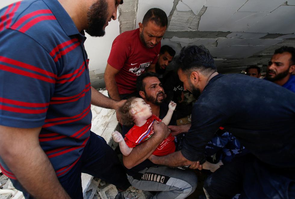 Người dân khổ nạn vì xung đột Israel - Palestine - Ảnh 6.