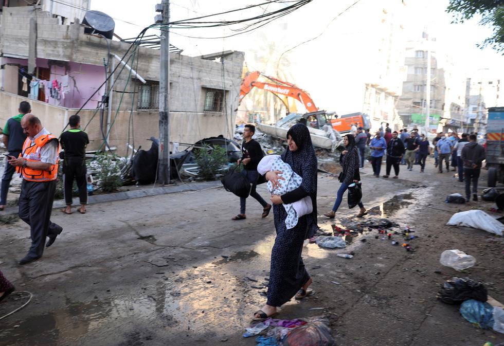 Người dân khổ nạn vì xung đột Israel - Palestine - Ảnh 1.