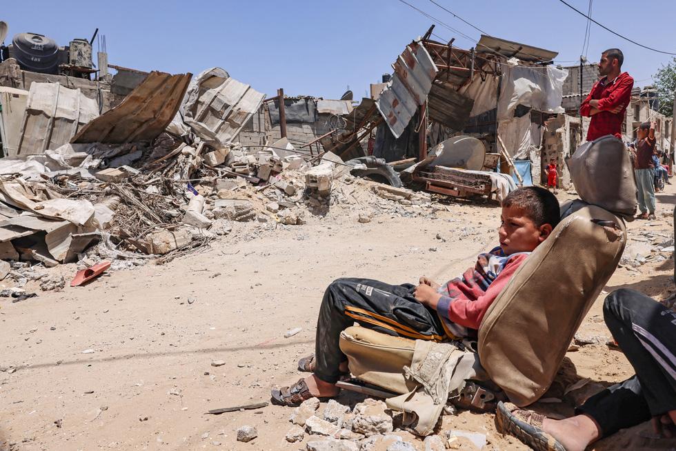 Người dân khổ nạn vì xung đột Israel - Palestine - Ảnh 9.
