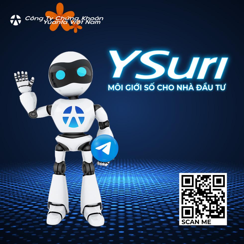 Thêm kênh hỗ trợ mua bán chứng khoán hiệu quả: Hỏi trợ lý ảo YSuri - Ảnh 1.