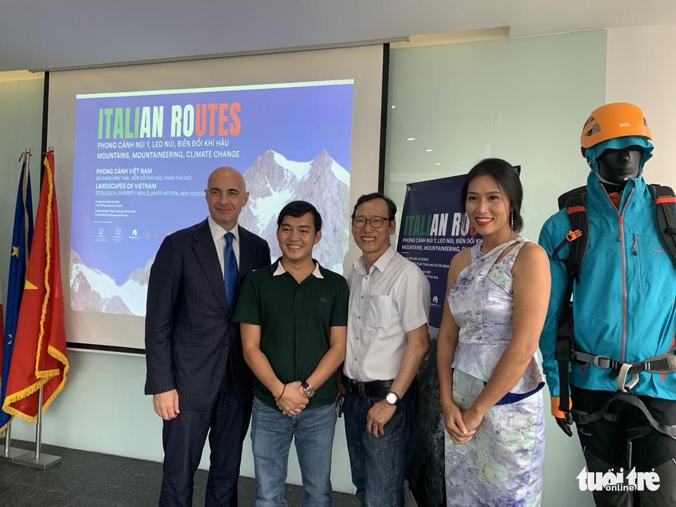 Việt Nam được chọn mở đầu cho triển lãm ảnh Italian Routes - Ảnh 1.
