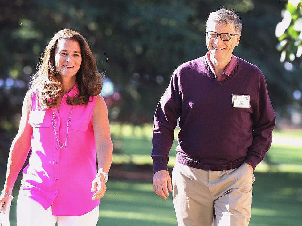 Cùng rửa chén mỗi tối và các cột mốc 27 năm hôn nhân nhà Bill Gates - Ảnh 1.