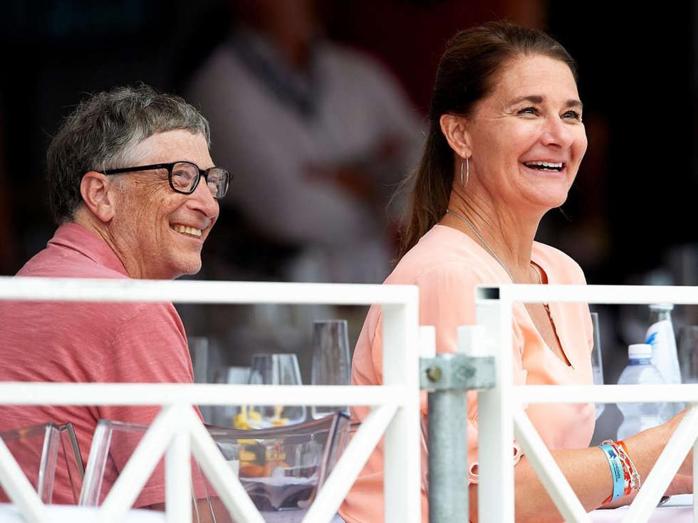 Cùng rửa chén mỗi tối và các cột mốc 27 năm hôn nhân nhà Bill Gates - Ảnh 11.