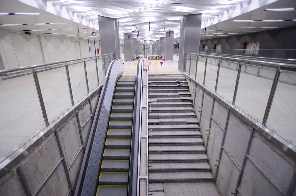 Ngắm diện mạo tầng B1 ga Ba Son của metro số 1 - Ảnh 3.
