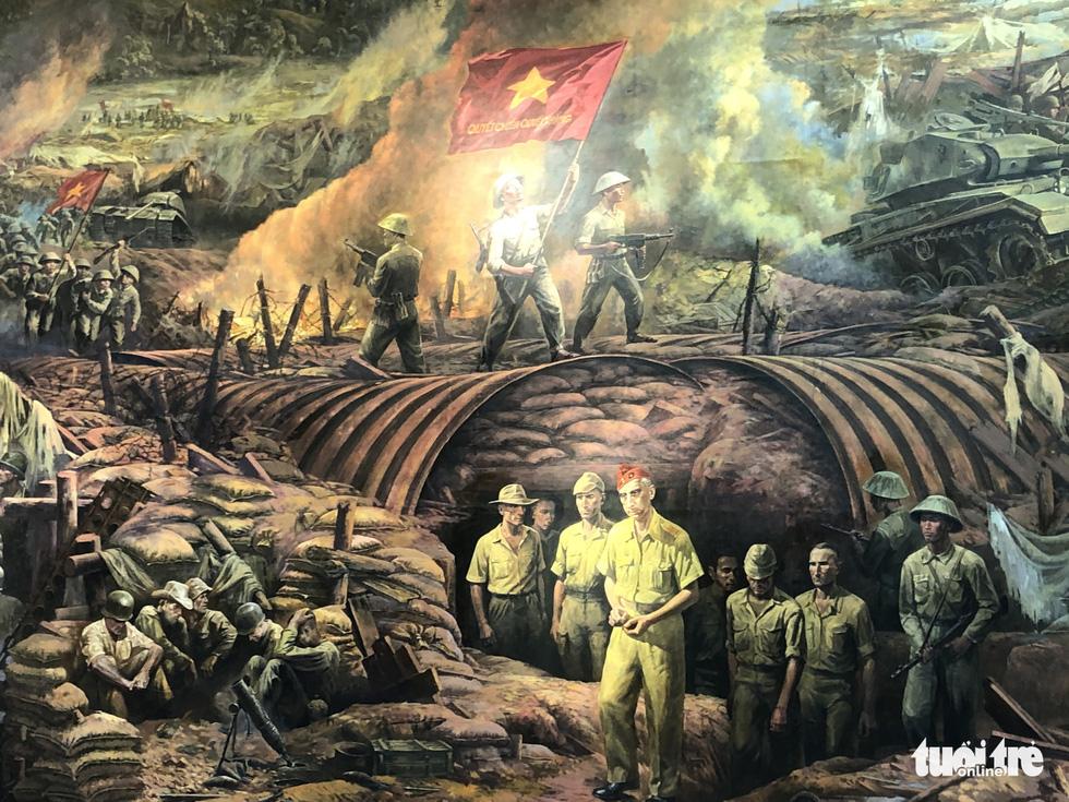56 ngày đêm trận Điện Biên Phủ trên 3.000m2 tranh tường: Kỳ tích mới của mỹ thuật Việt - Ảnh 5.