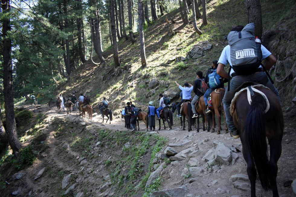 Trèo đèo vượt suối ngày đêm mang vắc xin đến các bản làng Ấn Độ - Ảnh 1.