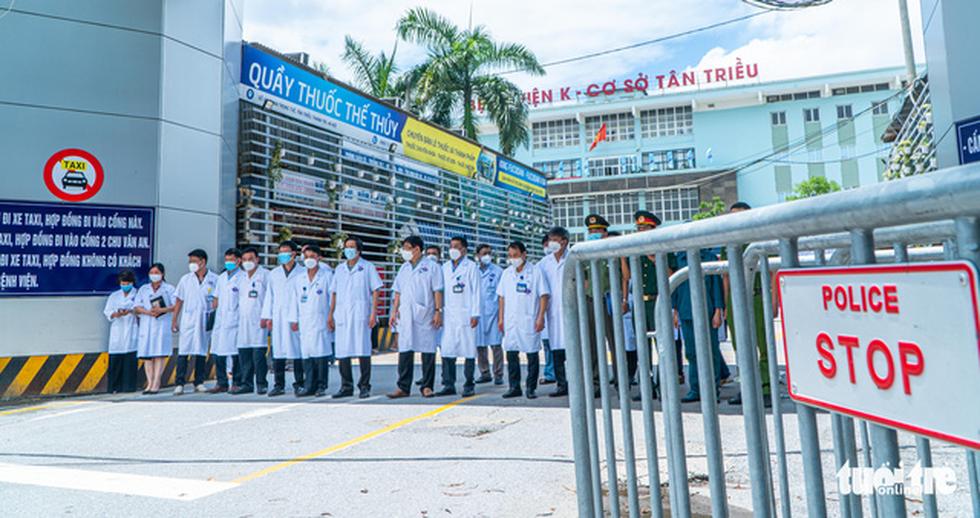 Gỡ phong tỏa Bệnh viện K Tân Triều, mở cửa khám bệnh trong ngày 16-6 tới - Ảnh 2.