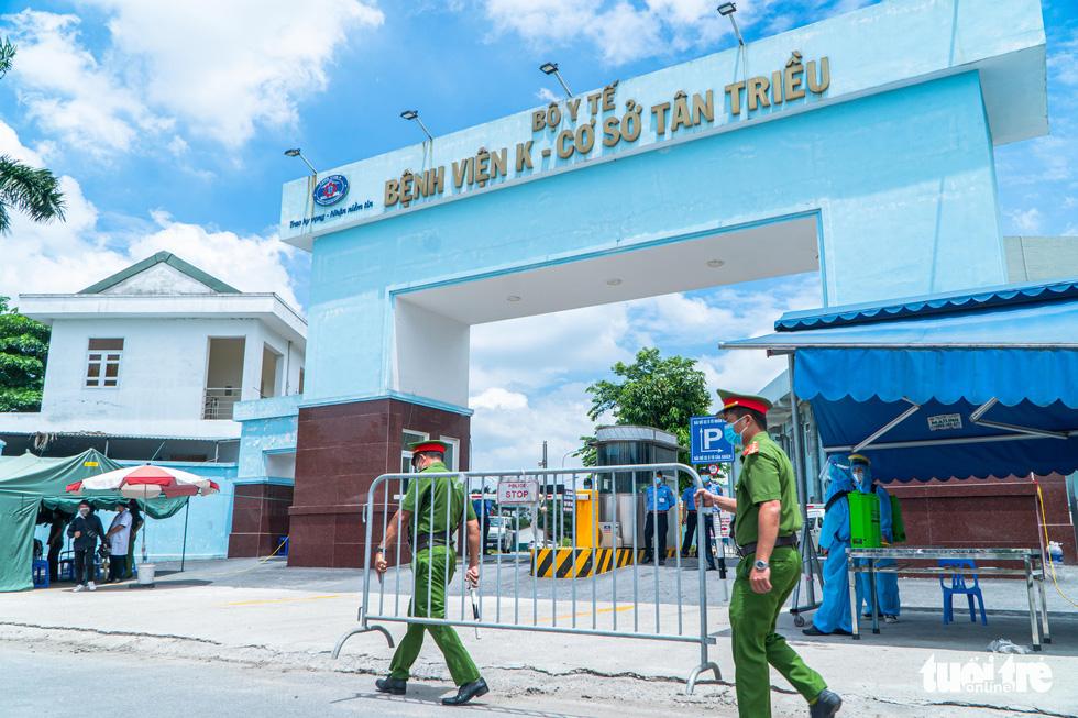 Gỡ phong tỏa Bệnh viện K Tân Triều, mở cửa khám bệnh trong ngày 16-6 tới - Ảnh 1.