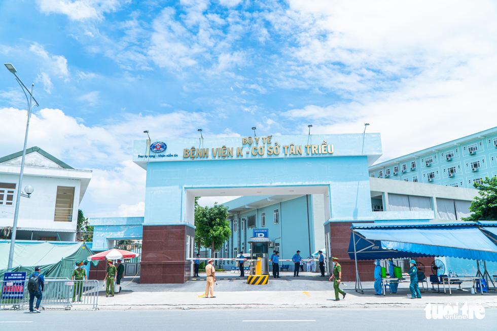 Gỡ phong tỏa Bệnh viện K Tân Triều, mở cửa khám bệnh trong ngày 16-6 tới - Ảnh 5.
