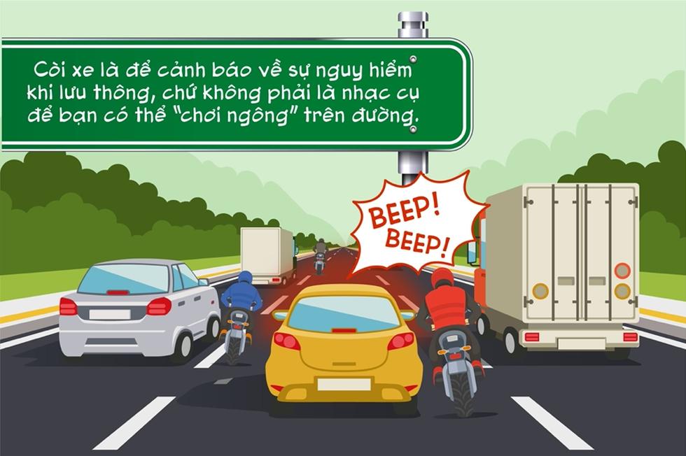 Điểm danh những hành vi kém văn minh giao thông người đi xe máy thường mắc phải - Ảnh 5.