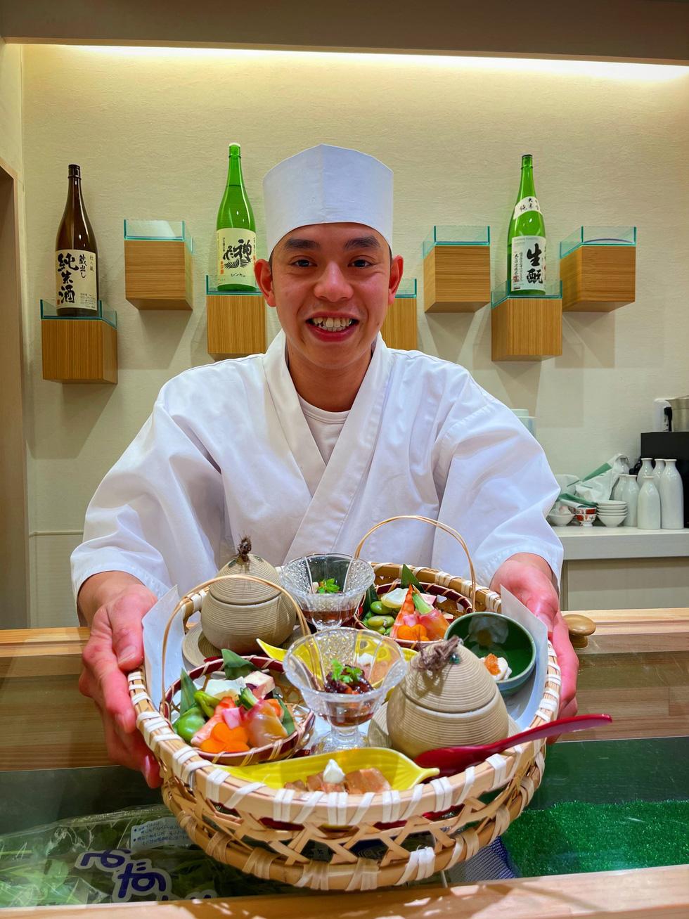 Từ học trò ham chơi thành cầu nối ẩm thực Việt - Nhật - Ảnh 1.