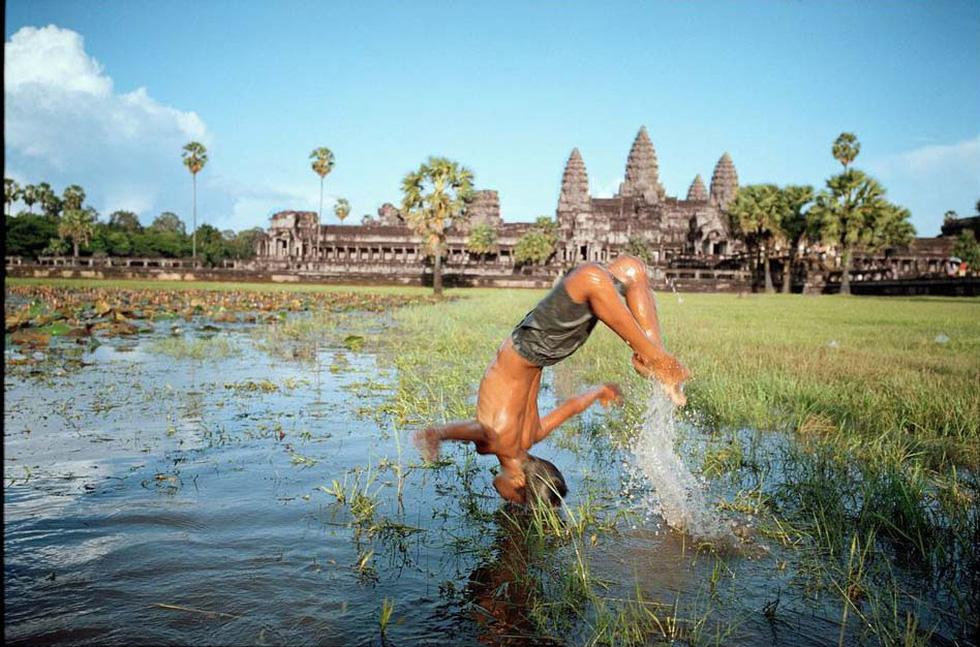 Nhiếp ảnh gia đi dọc Mekong Lâm Đức Hiền: Tôi háo hức gặp gỡ những chân tình - Ảnh 1.