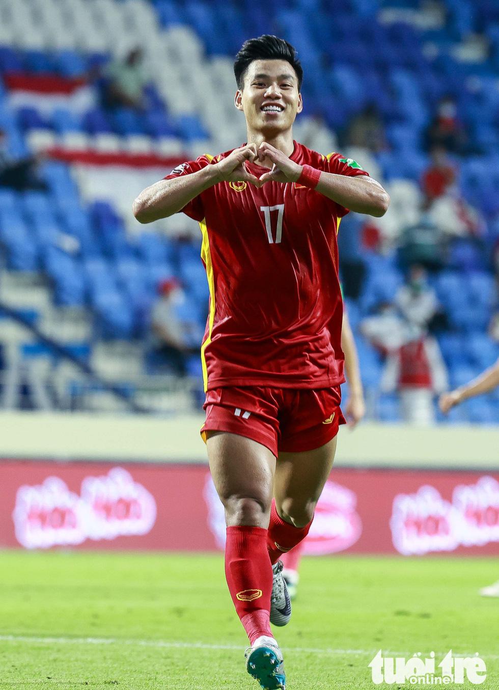 Hình ảnh khoảnh khắc quyết định trận đấu giữa Việt Nam và Indonesia - Ảnh 9.