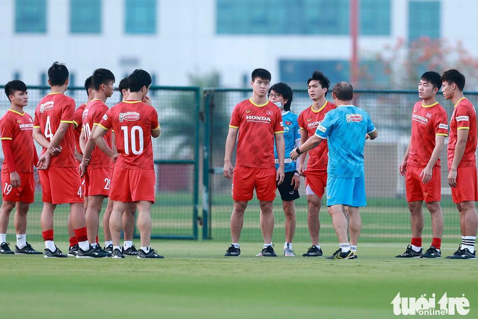 Tuấn Anh tập luyện cùng tuyển Việt Nam - Ảnh 1.