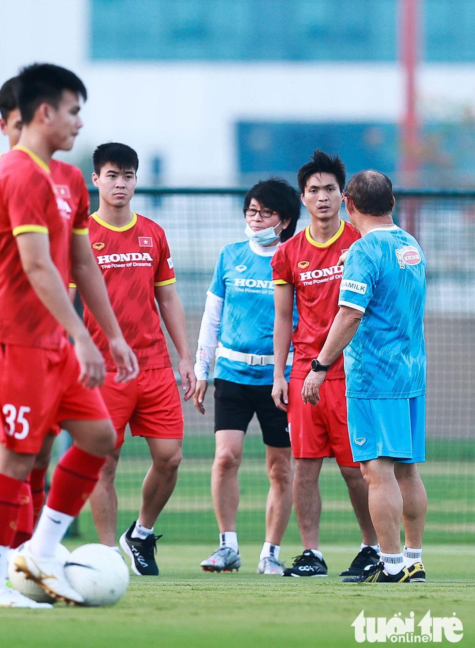 Tuấn Anh tập luyện cùng tuyển Việt Nam - Ảnh 2.