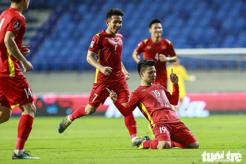 Hình ảnh khoảnh khắc quyết định trận đấu giữa Việt Nam và Indonesia - Ảnh 5.