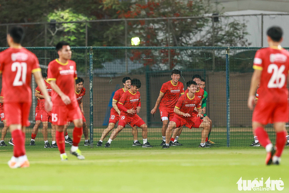 Tuấn Anh tập luyện cùng tuyển Việt Nam - Ảnh 3.