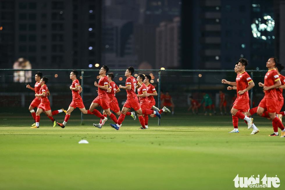 Tuấn Anh tập luyện cùng tuyển Việt Nam - Ảnh 4.