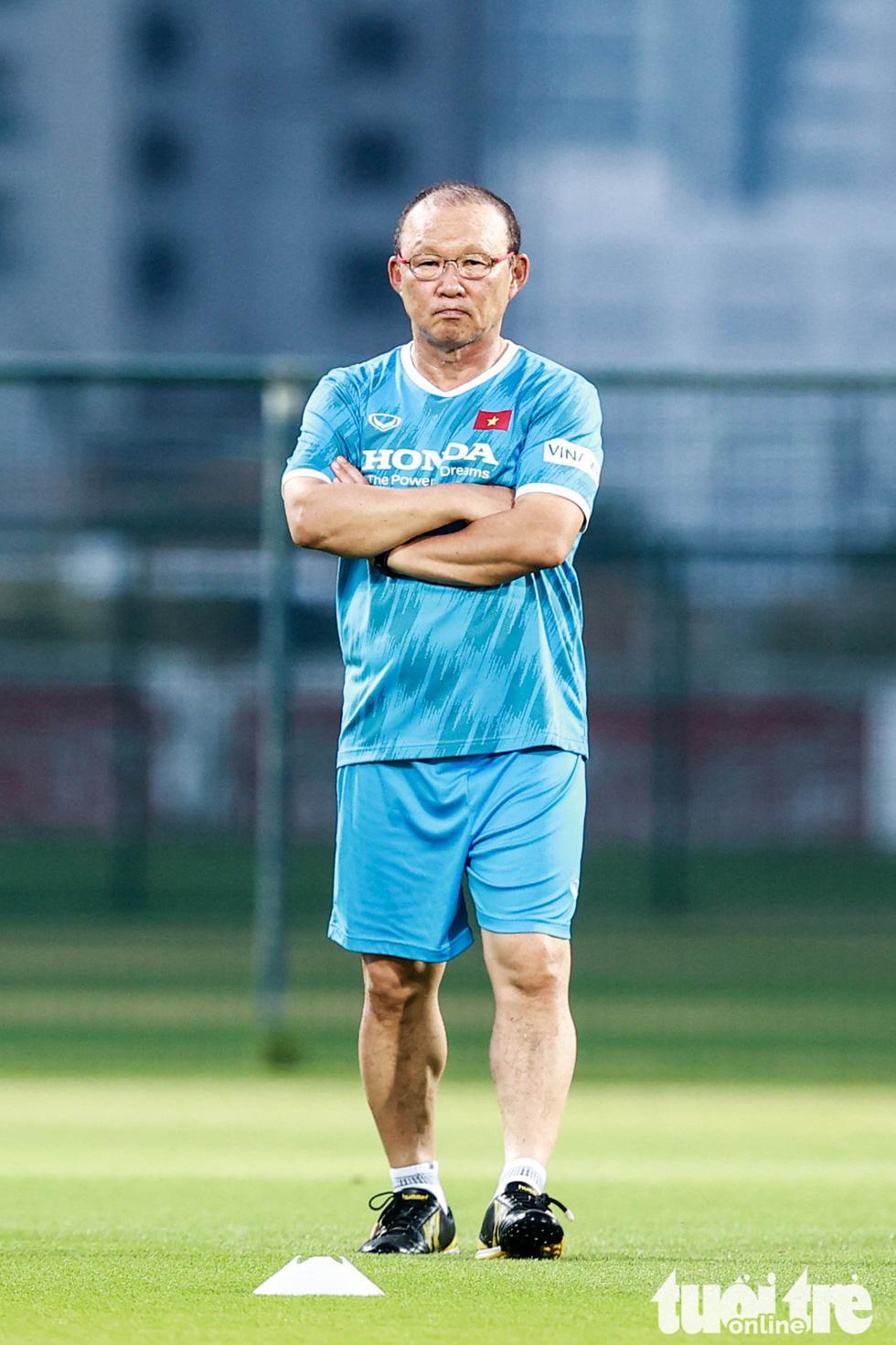 Tuấn Anh tập luyện cùng tuyển Việt Nam - Ảnh 5.