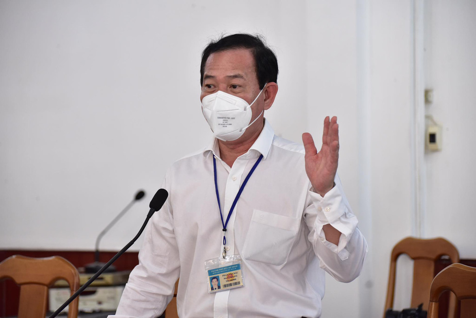 Bí thư Thành ủy TP.HCM gặp gỡ các chuyên gia, nhà khoa học cùng bàn cách chống dịch COVID-19 - Ảnh 3.