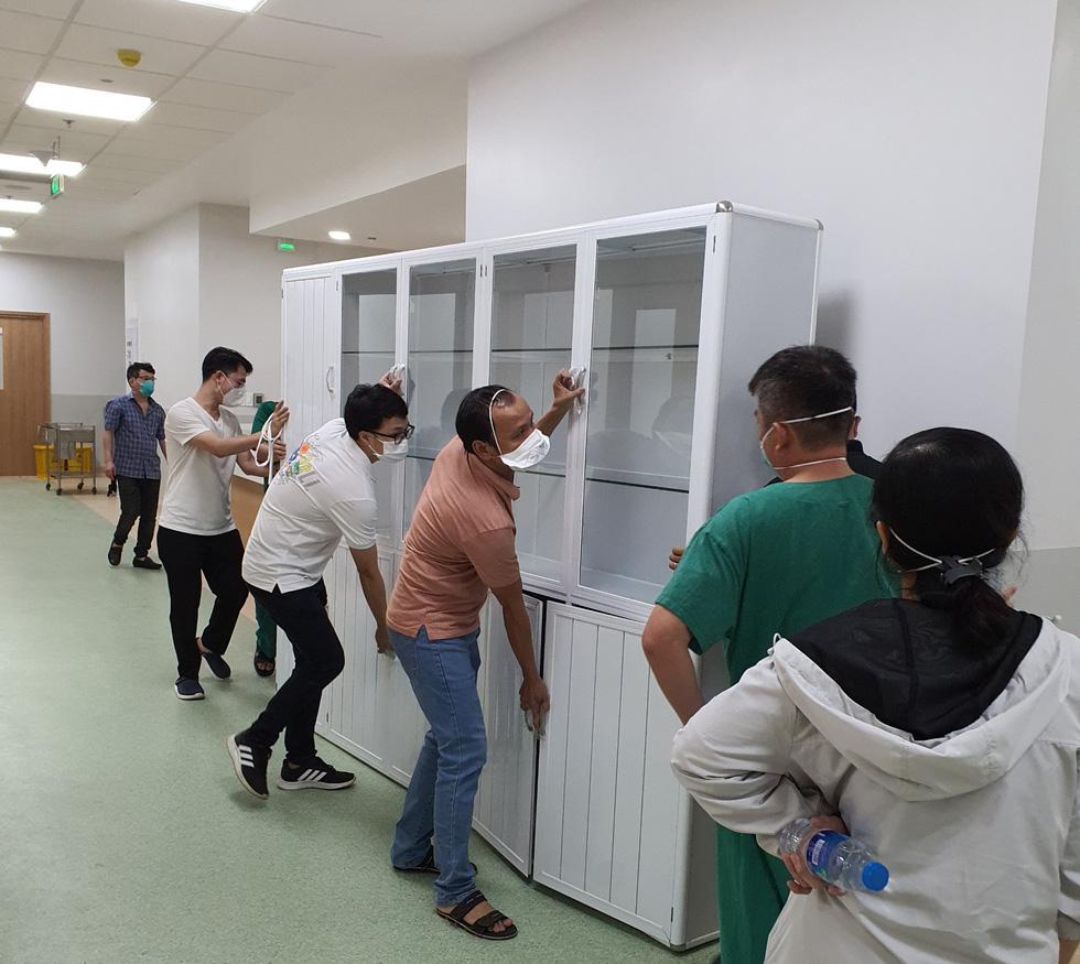 Cận cảnh bệnh viện 1.000 giường điều trị bệnh nhân COVID-19 nặng - Ảnh 5.