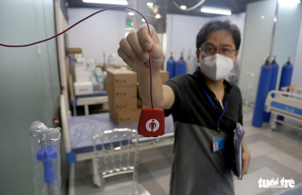 Bên trong Bệnh viện dã chiến số 5 Thuận Kiều Plaza trước giờ nhận bệnh - Ảnh 4.