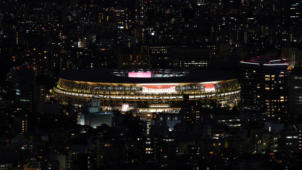 Đài lửa đã được thắp sáng, Olympic 2020 chính thức khai mạc - Ảnh 43.