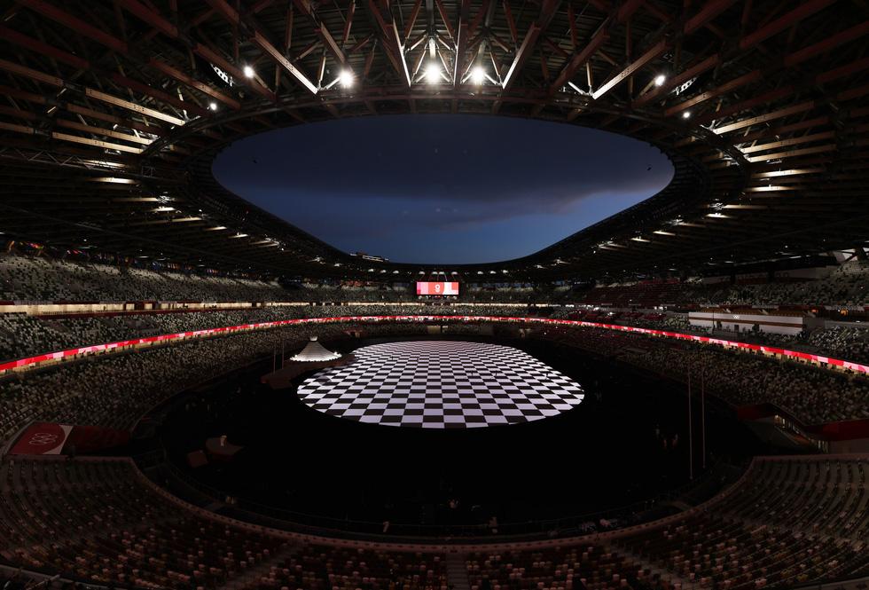 Đài lửa đã được thắp sáng, Olympic 2020 chính thức khai mạc - Ảnh 44.