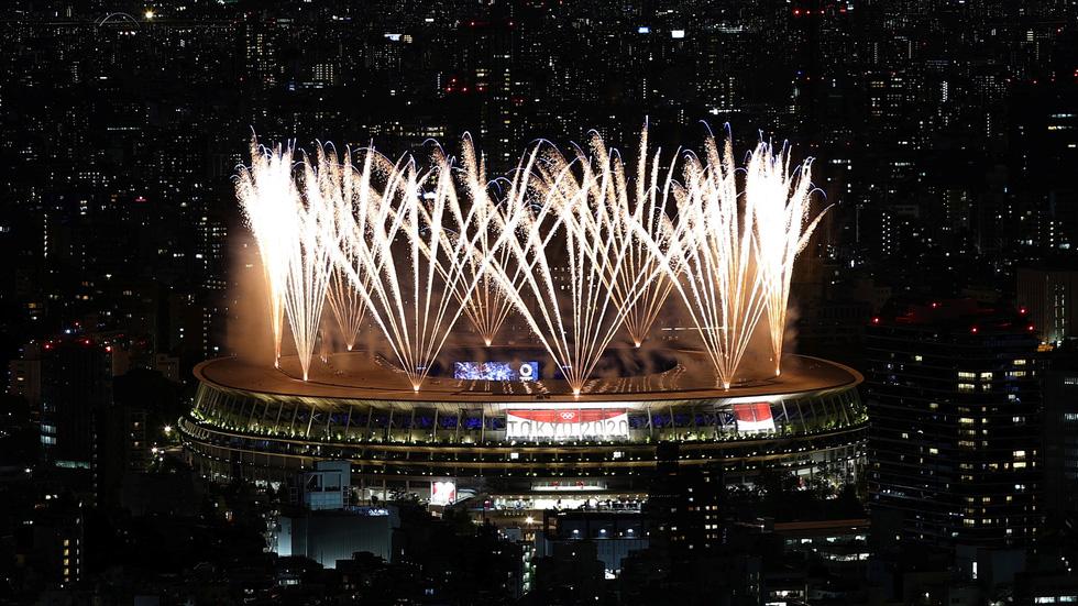 Đài lửa đã được thắp sáng, Olympic 2020 chính thức khai mạc - Ảnh 41.