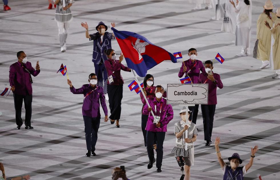 Đài lửa đã được thắp sáng, Olympic 2020 chính thức khai mạc - Ảnh 27.