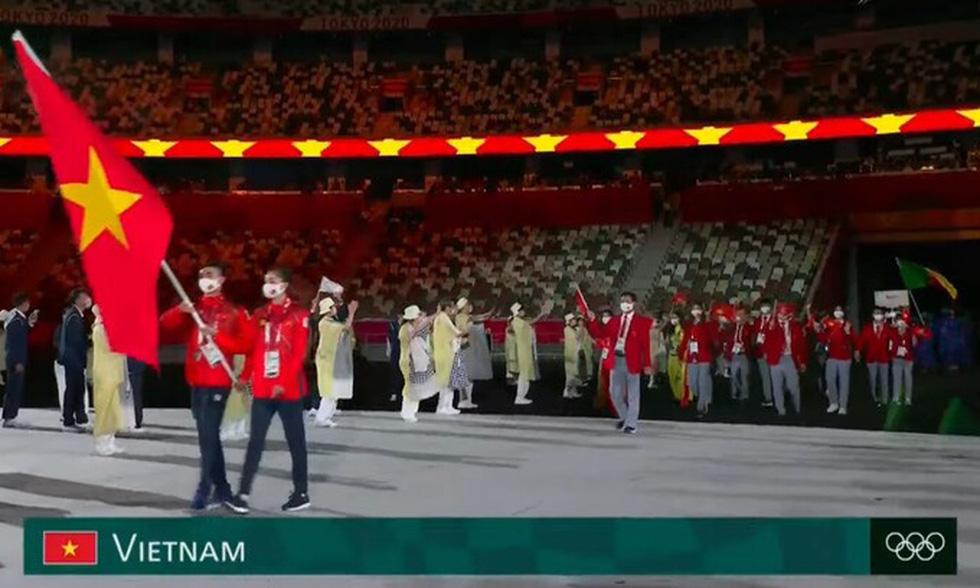 Đài lửa đã được thắp sáng, Olympic 2020 chính thức khai mạc - Ảnh 21.