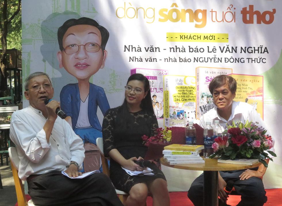 Bái vọng tiễn biệt nhà báo Lê Văn Nghĩa - Một người Sài Gòn rất Sài Gòn - Ảnh 1.