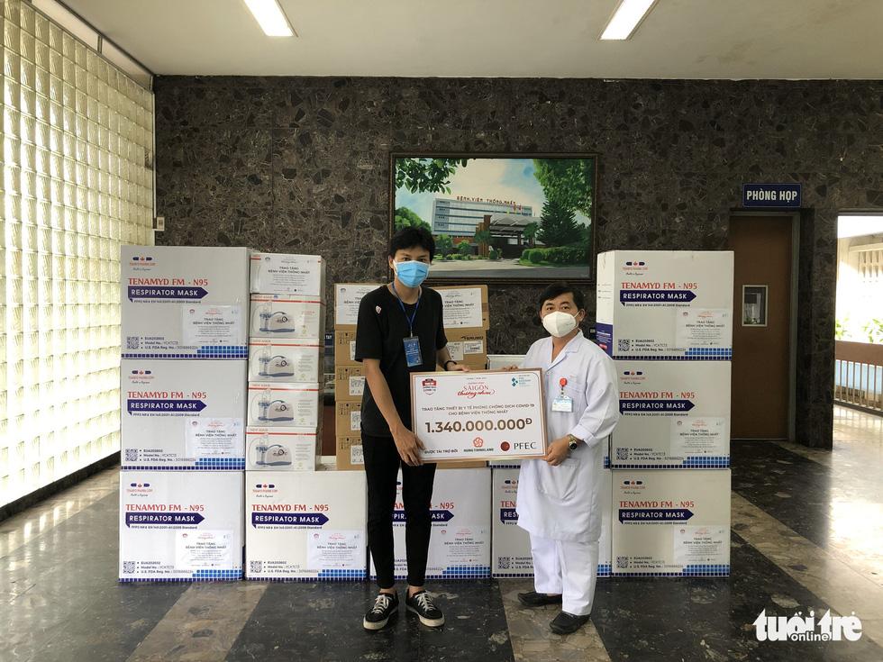 Thêm vũ khí để chiến đấu chống dịch COVID-19 tại Bệnh viện Nhân dân 115 và Bệnh viện Thống Nhất - Ảnh 4.