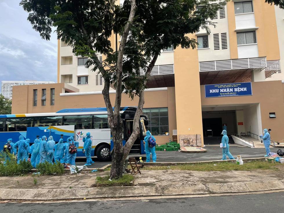 Chung cư đầu tiên ở TP.HCM chuyển thành bệnh viện điều trị COVID-19 với 2.500 giường - Ảnh 2.