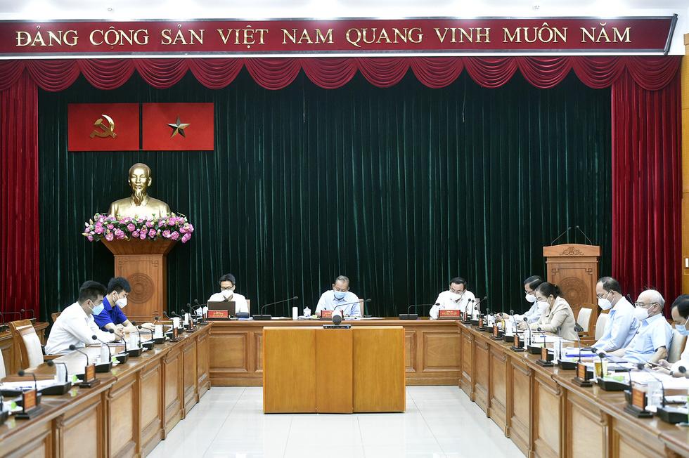 Thủ tướng Phạm Minh Chính: Dành tất cả những gì tốt nhất cho TP.HCM chống dịch - Ảnh 4.