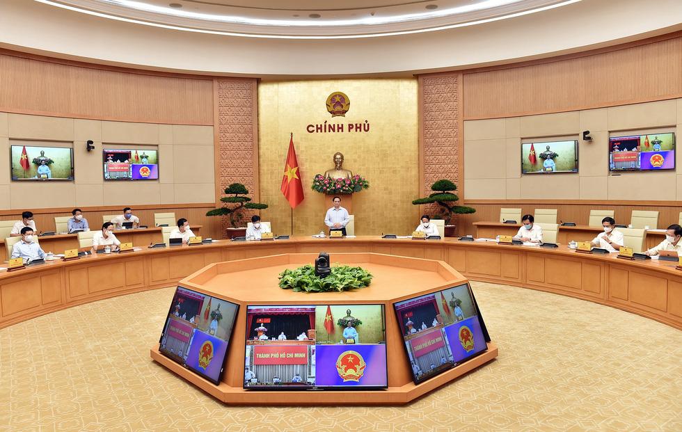 Thủ tướng Phạm Minh Chính: Dành tất cả những gì tốt nhất cho TP.HCM chống dịch - Ảnh 2.