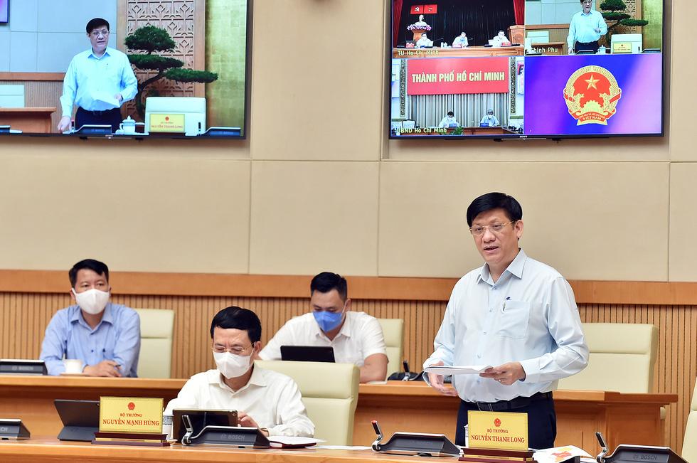 Thủ tướng Phạm Minh Chính: Dành tất cả những gì tốt nhất cho TP.HCM chống dịch - Ảnh 3.
