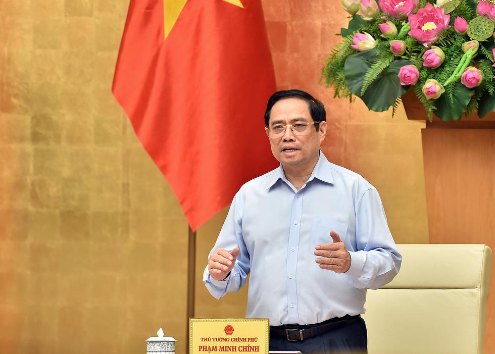Thủ tướng Phạm Minh Chính: Dành tất cả những gì tốt nhất cho TP.HCM chống dịch - Ảnh 1.